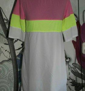 Платье новое,шифон,размер 42