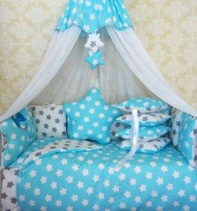 Комплект в детскую кроватку.