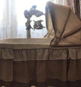 Babyton кроватка колыбель