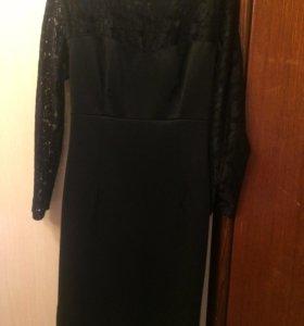 чёрное платье)
