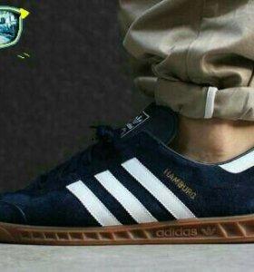 Кроссовки Adidas Hamburg dark blue