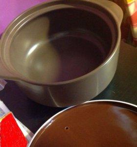 Granchio - кастрюля керамическая fiore, 24см, 4.3Л