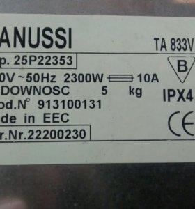 Запчасти к стиральной машине Zanussi