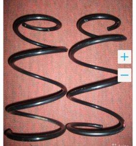 Пружины передние toyota corolla allex runx
