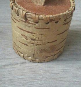 Туесок из березовой коры