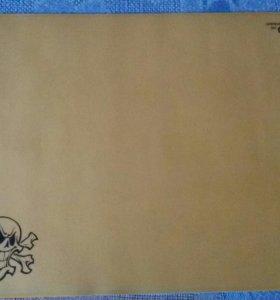 Игровой коврик для мыши QUMO Skull Золото