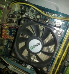 Материнская плата + процессор + оперативка