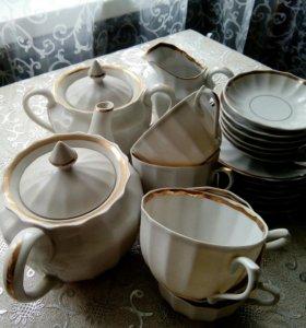 Чайный сервиз из невисомого фарфора