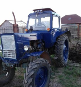 Трактор МТЗ 82+плуг+копалка+окучник+ботва сбивалка
