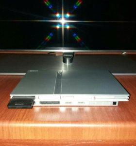 Игровая приставка PS2.