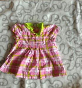Платье и кофточка 3-6 месяцев
