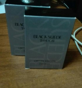 Black suede touch Avon