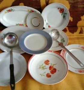 Посуда для дачи