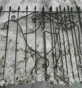 Кованые решётки на окна и ограда