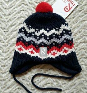 Reima на новорожденного новая шапка