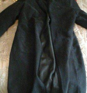 Плащ-пальто замша легкое