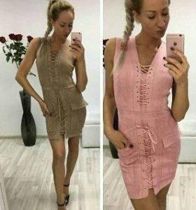 Розовое красивое платье D&G💕