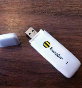 USB - модем 3G Beeline с слотом для microSD карты