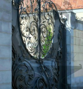 Кованые ворота, ковка художественная