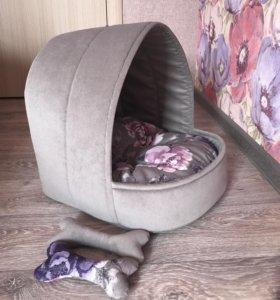 Люлька-лежанка для домашних животных