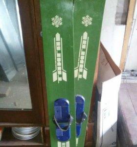 лыжи тайга