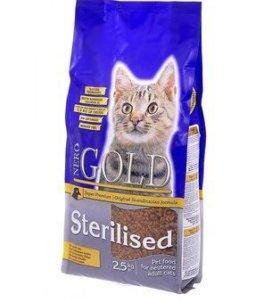 nero gold сухой корм д/стерилизованных кошек