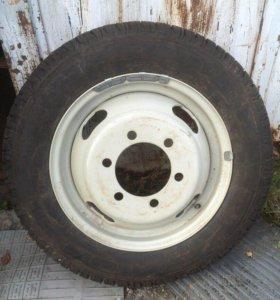 Зимние шины и диски voltyre 185/75R16C C-156