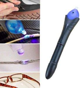 Быстрый 5 секундый клей сохнет под ульрафиолетом