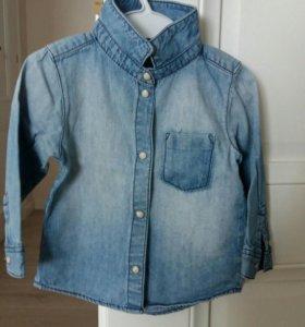 Рубашка джинсовая H@M