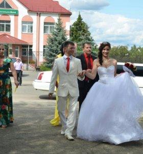 Очень красивое и нежное свадебное платье👰💞💒👍👗