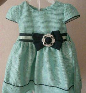 Платье на девочку 1-1.5 года.