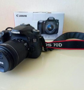 Фотоаппарат Canon EOS 70D Kit 18-55 IS STM