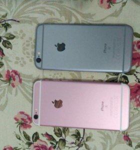 Айфон 6s. 16 розовый