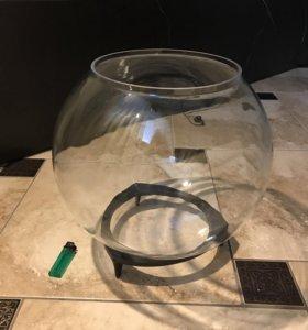 Аквариум или декоративная ваза
