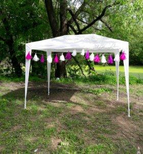 тент-шатер палатка стул стол аренда