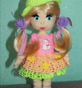 Интерьерная куколка (ручная работа)