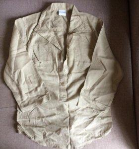 Льняная блуза размер S