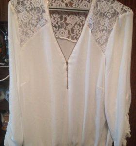 Блуза с гипюр очень красивая