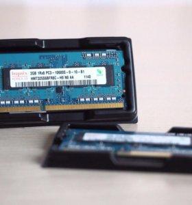 Оперативная память Hynix DDR3, 1600 МГц, 2 ГБ (х2)