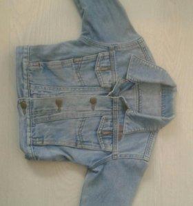 Детская джинсовка