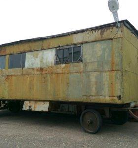 Строительный вагончик мобильный.