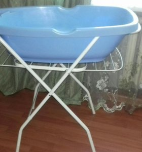 2в1,подставка под ванночку и сушилка