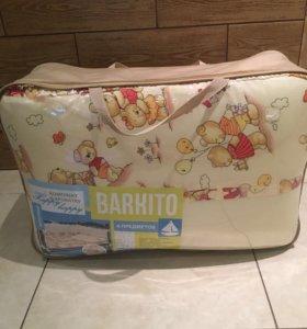 Новый комплект в кроватку barkito