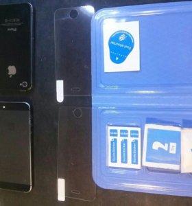 Стекло защитное на Iphone