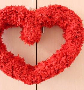 Цифры,сердце,цветы по акции!