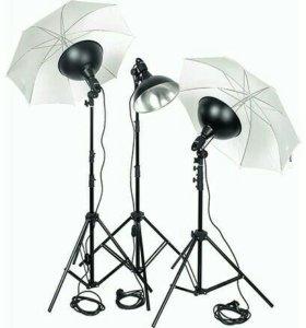 Комплект студийного света Raylab MACRO-3 UU KIT