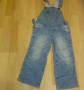 Комбез джинсовый, мазекея