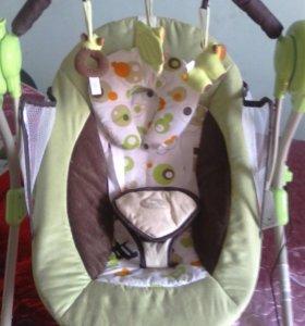 Новые электронные качели Baby Care.