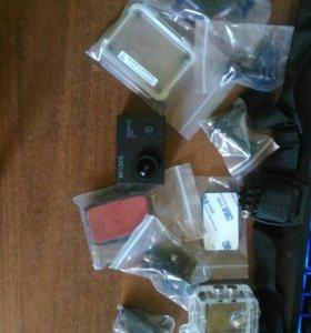 Экшн видеокамера sjcam SJ4000 WIFI черный