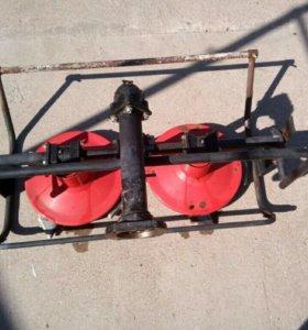 Роторная косилка к мотоблоку Заря-1